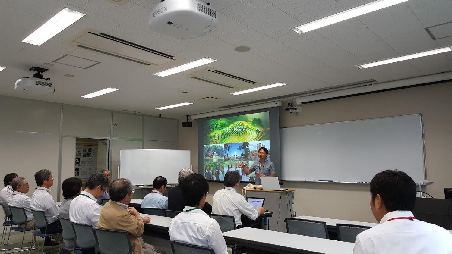 Trao đổi sinh viên với ĐH Ibaraki – Nhật Bản 2017