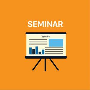 Lịch seminar tháng 3 năm 2019