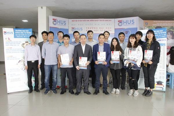 Trường Đại học Khoa học Tự nhiên tổ chức tuyển sinh tại tỉnh Bắc Ninh