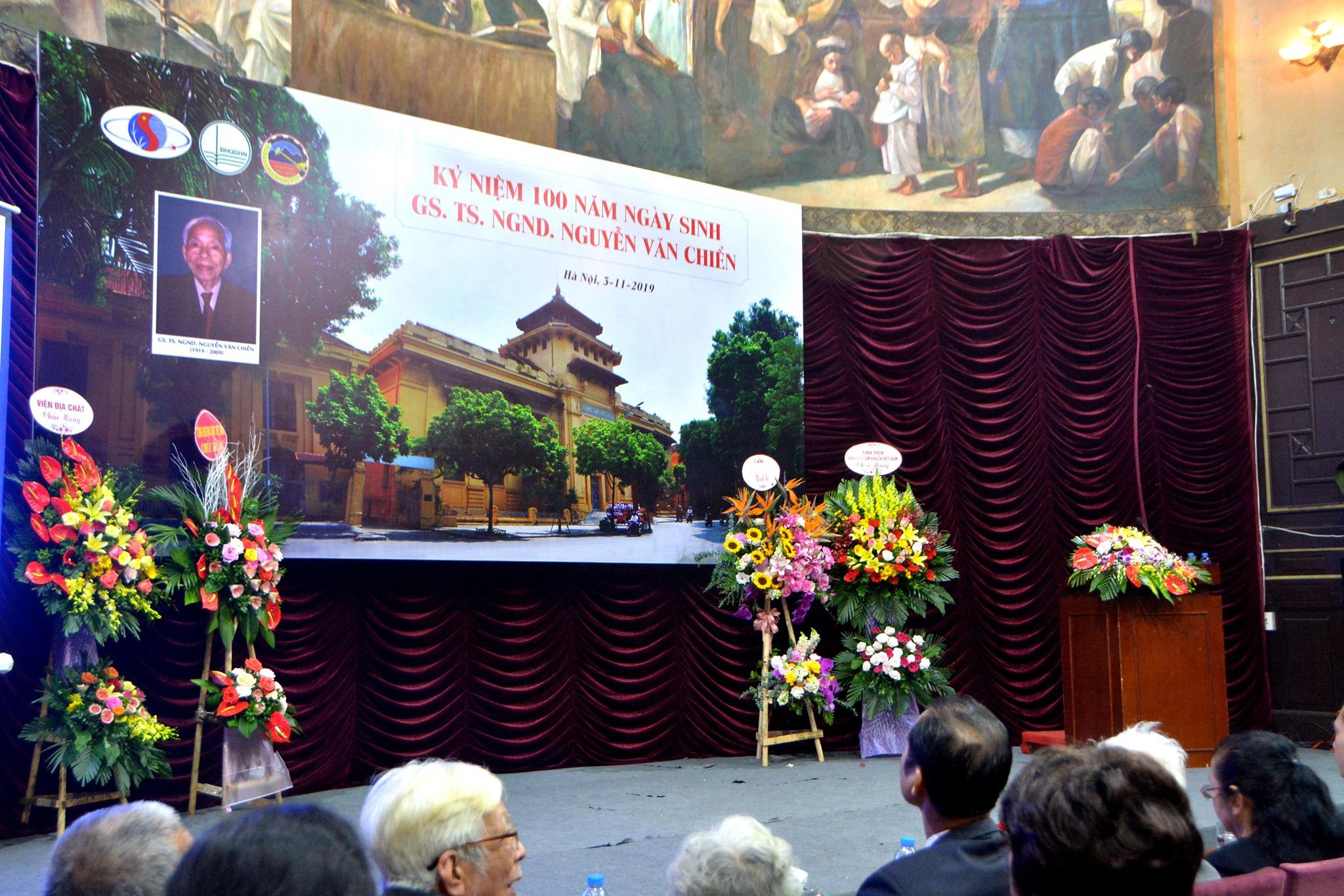 Lễ kỷ niệm 100 năm ngày sinh GS. TS. NGND. Nguyễn Văn Chiển