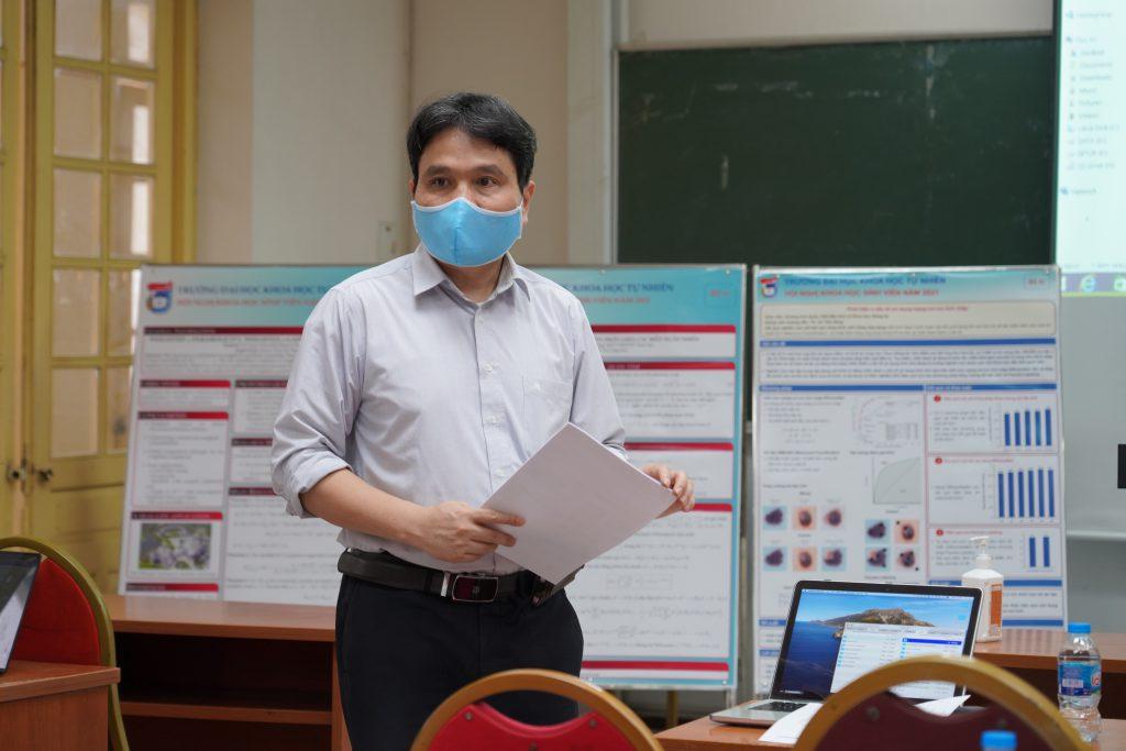 Sinh viên Khoa Địa chất tham dự hội nghị Khoa học sinh viên Trường Đại học Khoa học Tự nhiên năm 2021 dưới ảnh hưởng của đại dịch Covid 19
