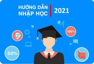 Hướng dẫn thủ tục nhập học cho các thí sinh trúng tuyển vào hệ Đại học chính quy năm 2021